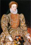 Elizabeth Tudor, Henry and Anne's only child. Elizabeth would later become Elizabeth I of England, one of England's greatest monarchs.