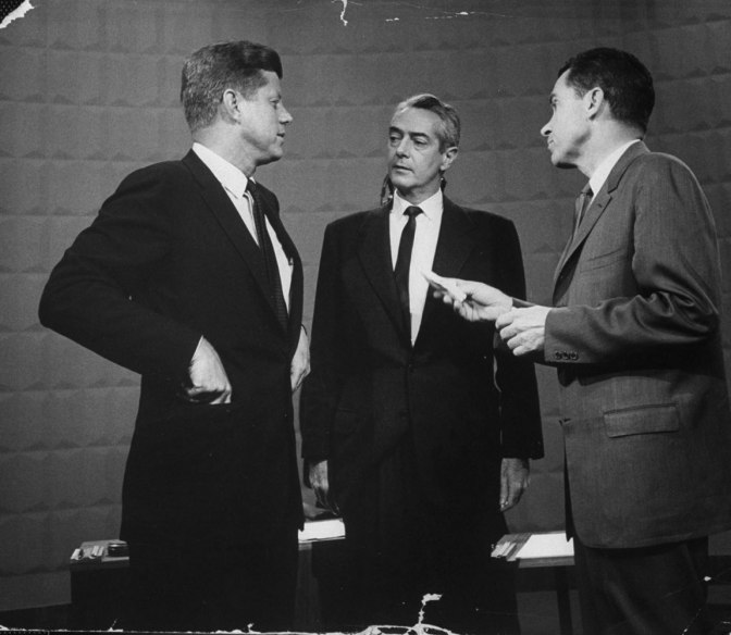 1960 Presidential Debate: Kennedy vs. Nixon
